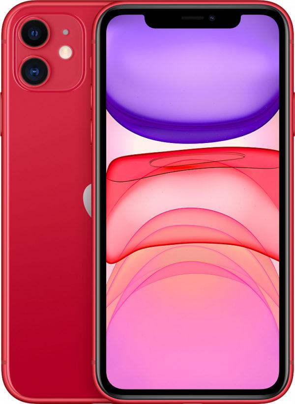 iPhone 11, 128 ГБ, (PRODUCT)RED (новая комплектация)