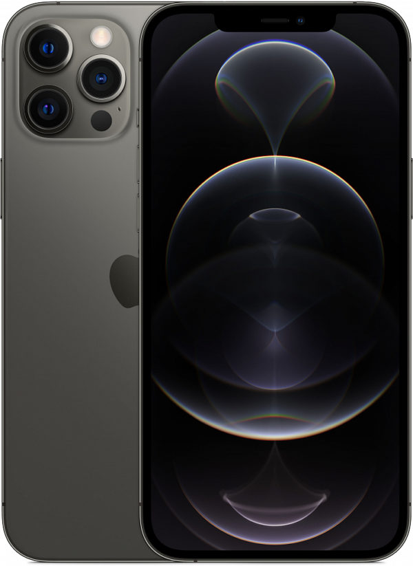 iPhone 12 Pro Max, 256 ГБ, графитовый