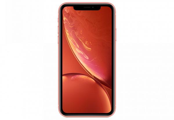 iPhone XR, 64 ГБ, коралловый (новая комплектация)