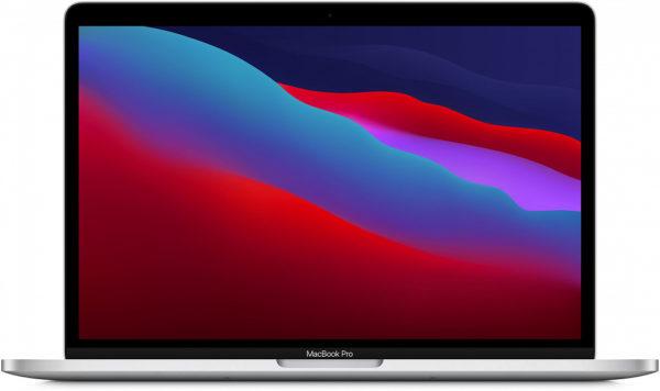 "MacBook Pro 13"" (M1, 2020) 8 ГБ, 256 ГБ SSD, Touch Bar, серебристый"