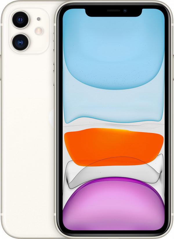 iPhone 11, 64 ГБ, белый (новая комплектация)