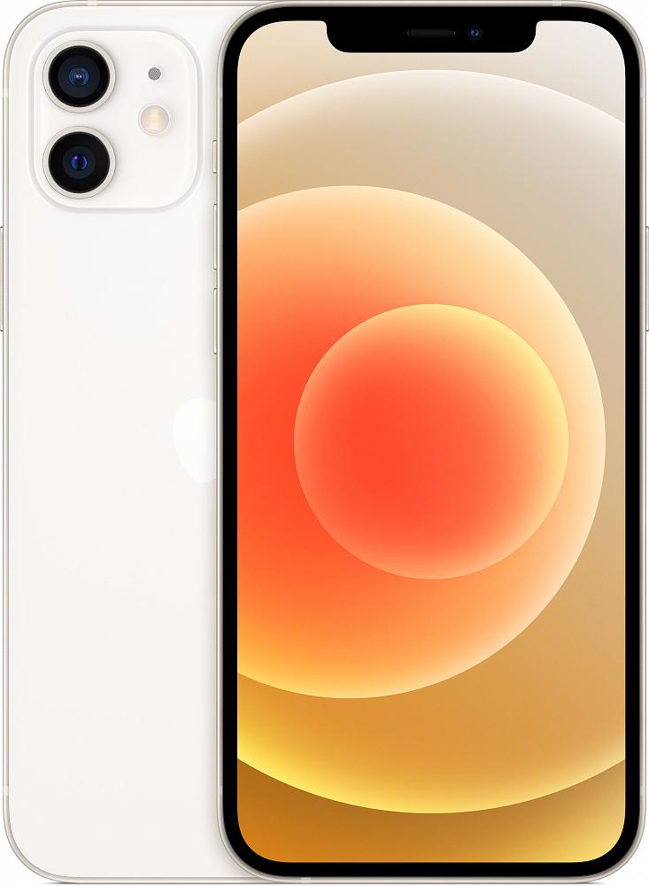 iPhone 12, 64 ГБ, белый