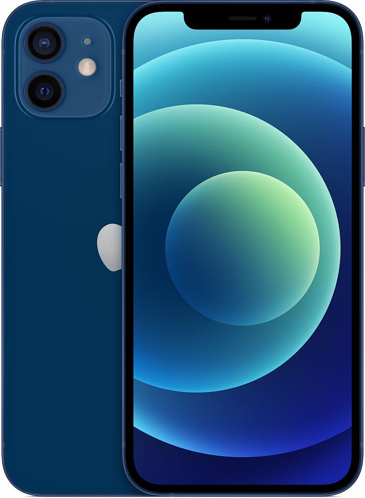 iPhone 12, 64 ГБ, синий
