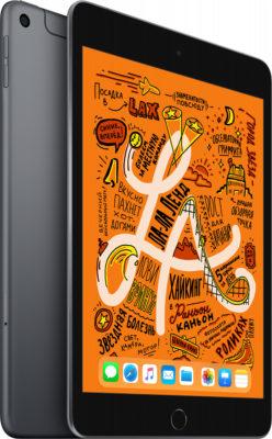 iPad mini 2019 Wi-Fi + Cellular 256 ГБ, «серый космос»