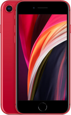 iPhone SE, 128 ГБ, (PRODUCT)RED (новая комплектация)