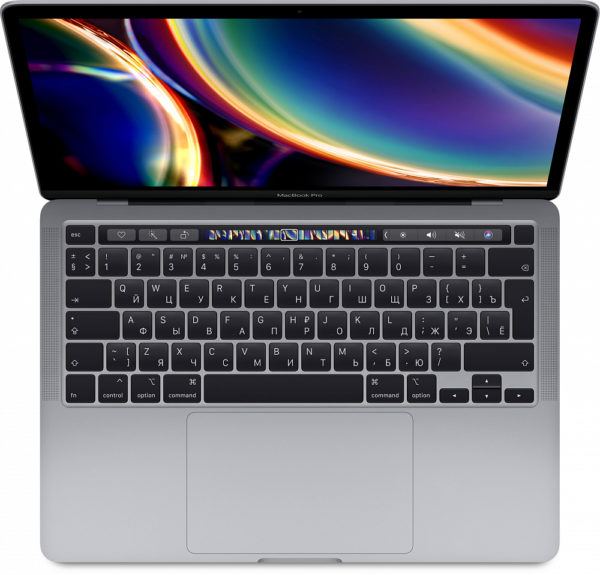 "MacBook Pro 13"" QC i5 2 ГГц, 32 ГБ, 1 ТБ SSD, Iris Plus, Touch Bar, «серый космос» СТО"