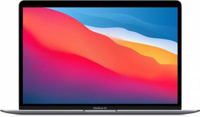 MacBook Air (M1, 2020) 8 ГБ, 512 ГБ SSD, «серый космос»