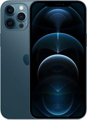 iPhone 12 Pro Max, 256 ГБ, «тихоокеанский синий»
