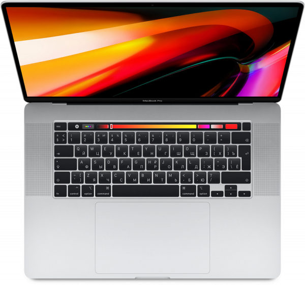 "MacBook Pro 16"" 6 Core i7 2,6 ГГц, 16 ГБ, 512 ГБ SSD, AMD Radeon Pro 5300M, Touch Bar, серебристый"