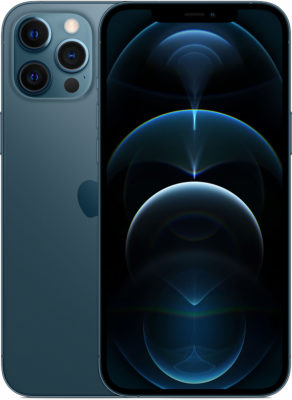 iPhone 12 Pro Max, 128 ГБ, «тихоокеанский синий»