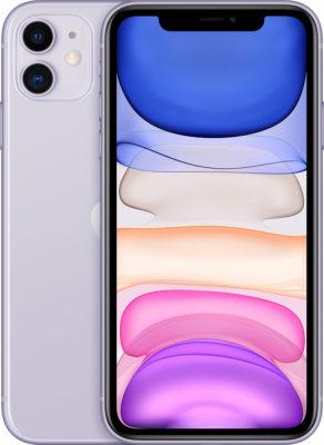 iPhone 11, 64 ГБ, фиолетовый (новая комплектация)