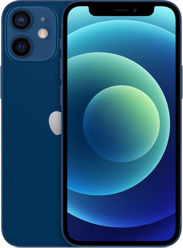 iPhone 12 mini, 64 ГБ, синий