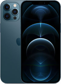 iPhone 12 Pro Max, 512 ГБ, «тихоокеанский синий»