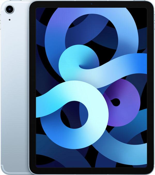 iPad Air Wi-Fi + Cellular 64 ГБ, «голубое небо»