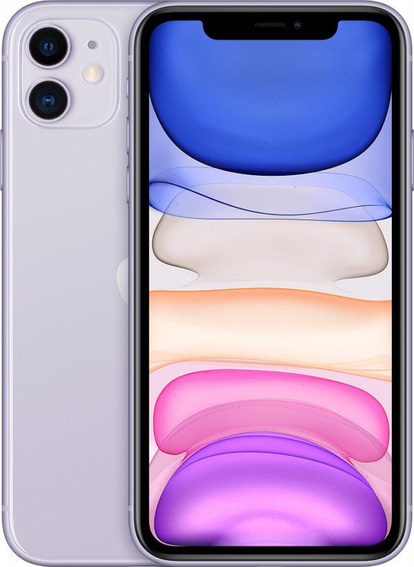 iPhone 11, 128 ГБ, фиолетовый (новая комплектация)