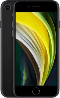iPhone SE, 256 ГБ, черный