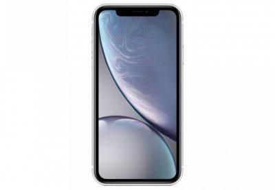 iPhone XR, 128 ГБ, белый (новая комплектация)