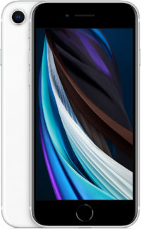 iPhone SE, 64 ГБ, белый (новая комплектация)