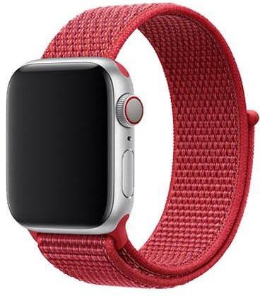 Спортивный браслет для Apple Watch 38 мм, красный