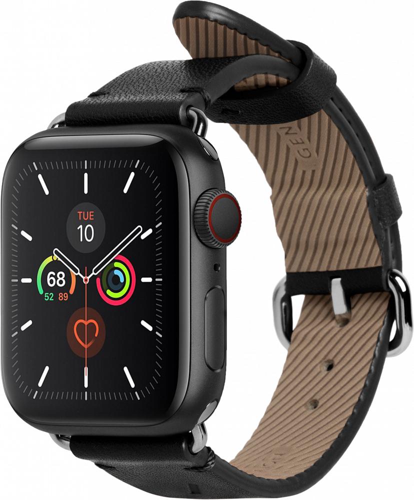 Ремешок Classic Strap для Apple Watch 38/40 мм, кожа, черный