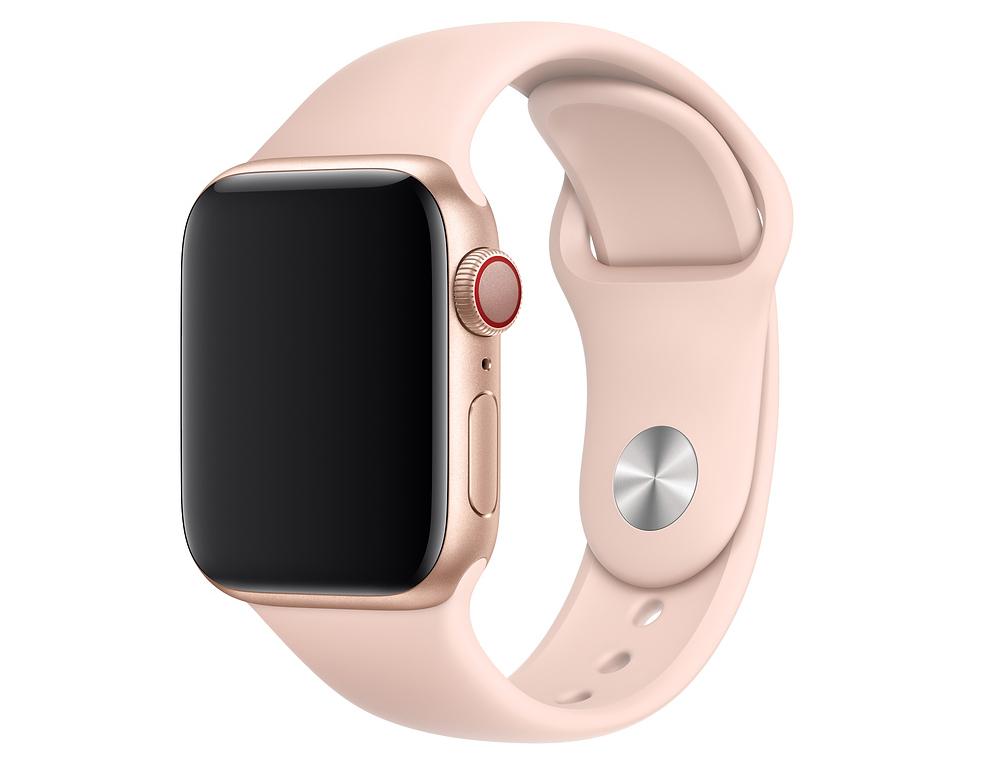 Ремешок Watch 40мм, размеры S/M и M/L, спортивный, «розовый песок»