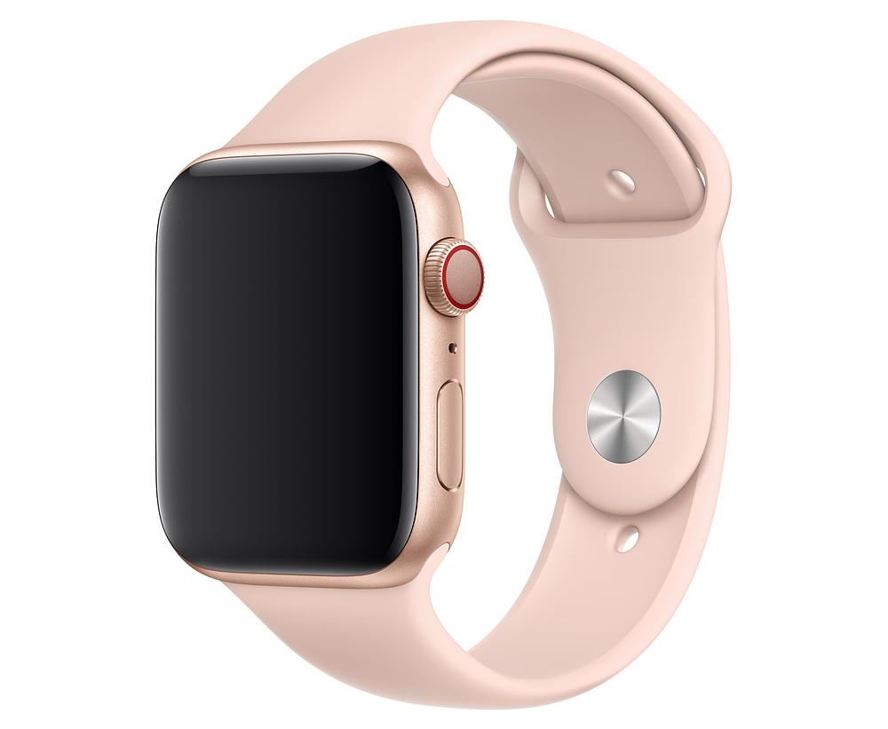Ремешок Watch 44мм, размеры S/M и M/L, спортивный, «розовый песок»