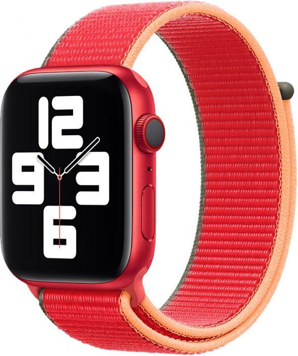 Спортивный браслет для Watch 44 мм, красный