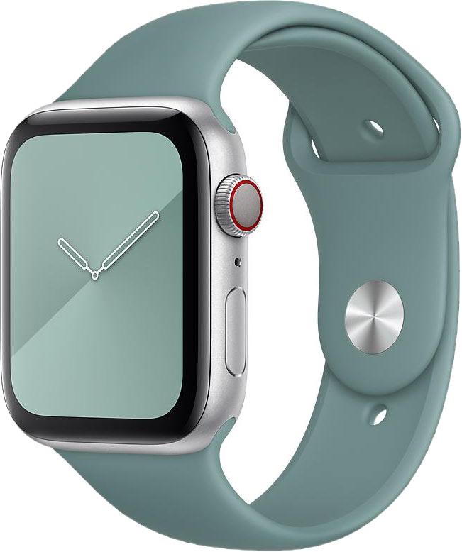 Ремешок для Apple Watch 38/40мм, силикон, кактус