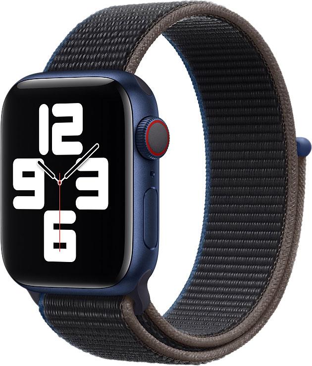 Спортивный браслет Watch 44 мм, угольный