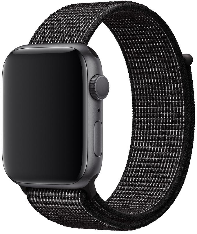 Спортивный браслет для Apple Watch 44/42 мм, черный