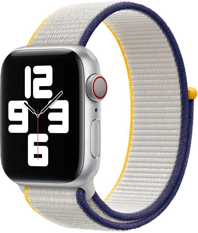 Спортивный браслет для Watch 40 мм, бледно-серый
