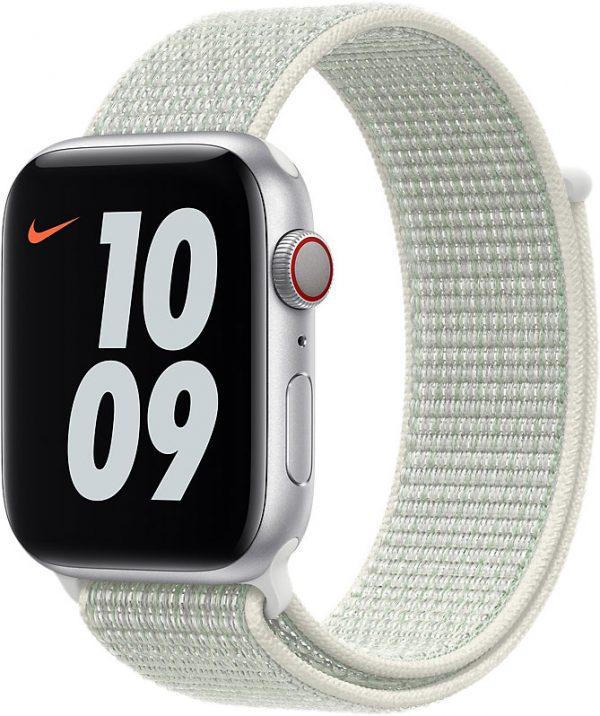 Спортивный браслет для Apple Watch 44 мм, «еловая дымка»