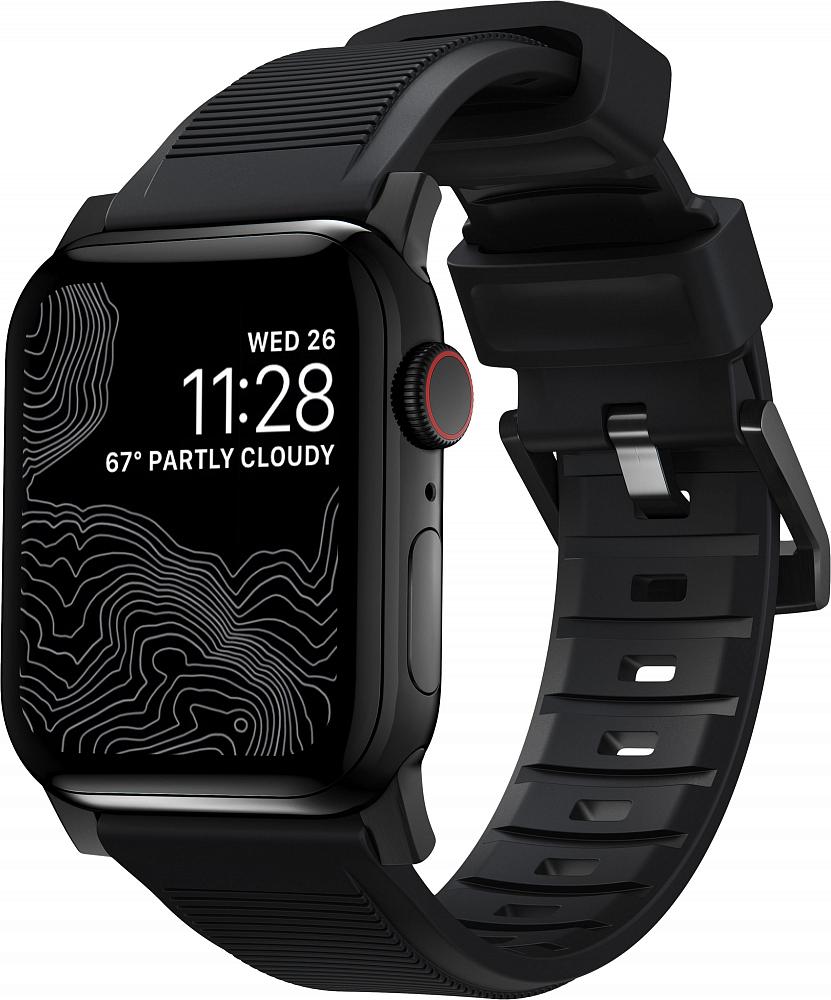 Ремешок Rugged Strap для Apple Watch 42/44mm, черный