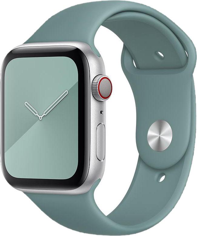 Ремешок для Apple Watch 42/44мм, силикон, кактус