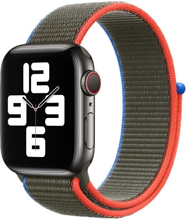 Спортивный браслет для Watch 40 мм, оливковый