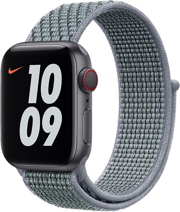Спортивный браслет для Apple Watch 40 мм, «дымчатый серый»