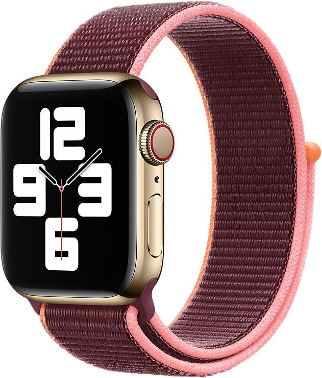 Спортивный браслет Watch 40 мм, сливовый