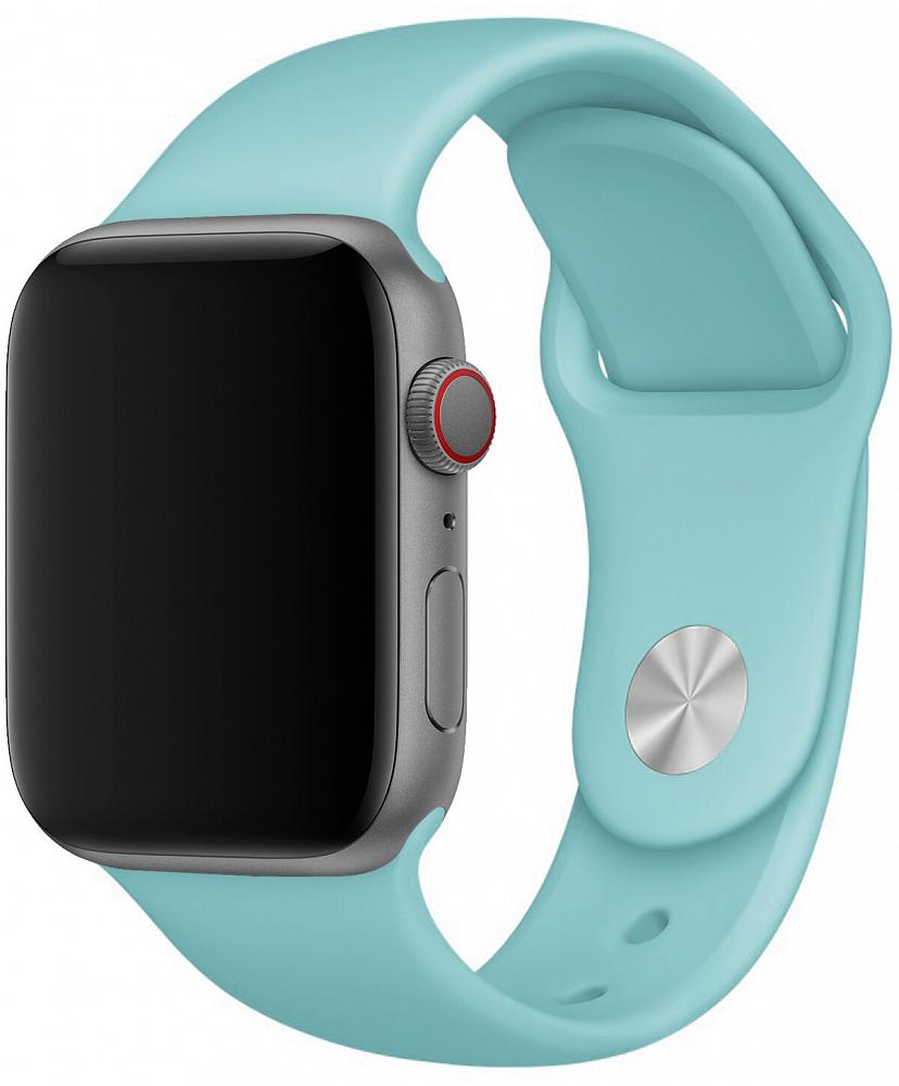 Набор силиконовых ремешков для Apple Watch 38 мм, морская волна