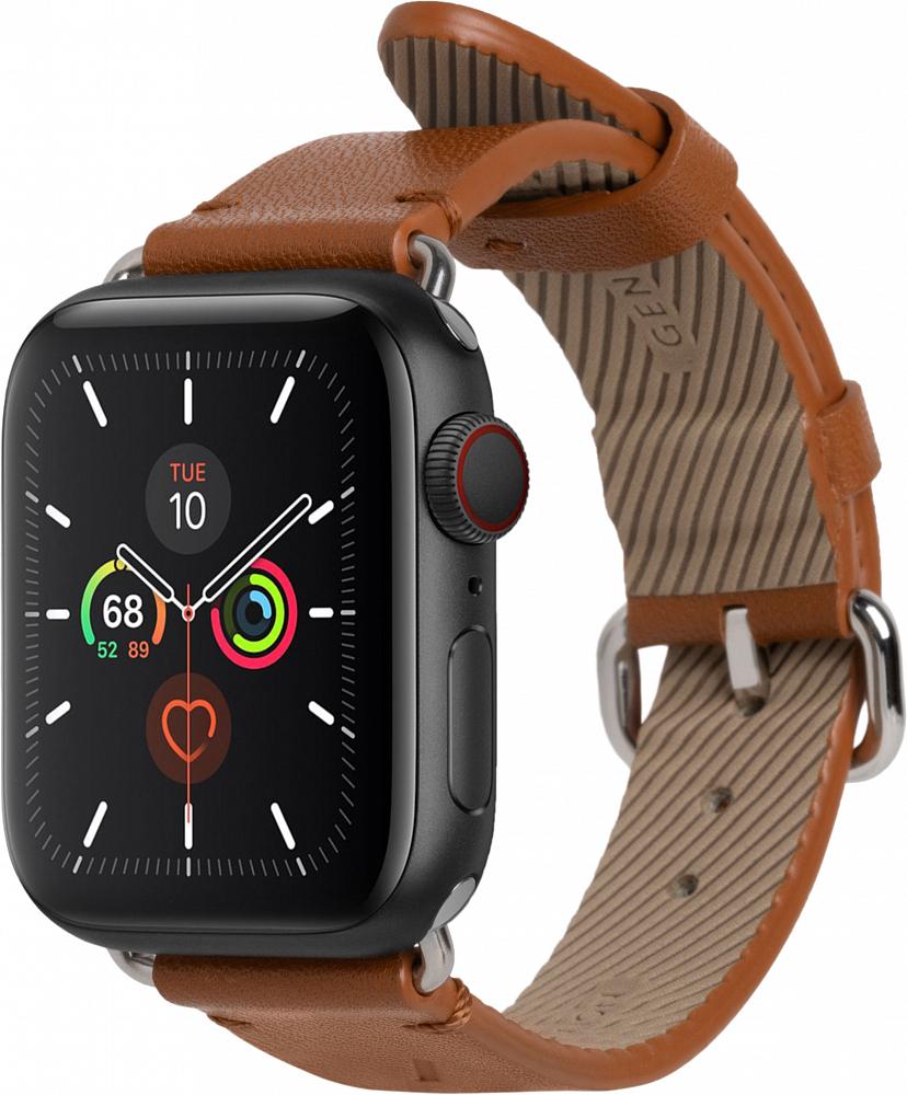 Ремешок Classic Strap для Apple Watch 38/40 мм, кожа, коричневый