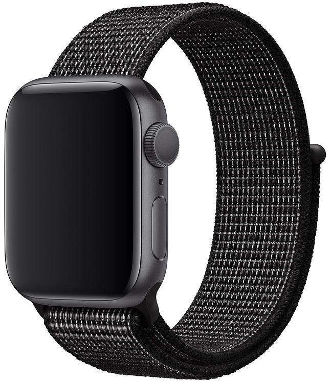 Спортивный браслет для Apple Watch 40/38 мм, черный