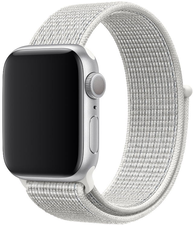 Спортивный браслет для Apple Watch 40/38 мм, «снежная вершина»