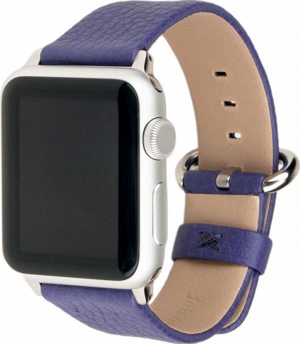 Ремешок для Apple Watch 38/40 мм, теленок, сиреневый