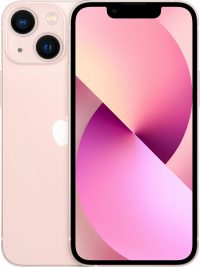 iPhone 13 mini, 128 ГБ, розовый