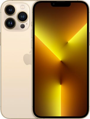 iPhone 13 Pro Max, 128 ГБ, золотой
