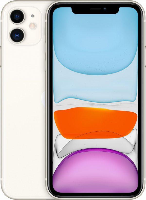 iPhone 11, 256 ГБ, белый (новая комплектация)