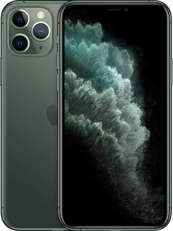 iPhone 11 Pro, 512 ГБ, тёмно-зелёный