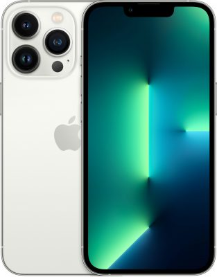iPhone 13 Pro, 256 ГБ, серебристый