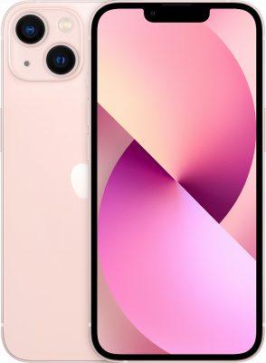 iPhone 13, 256 ГБ, розовый